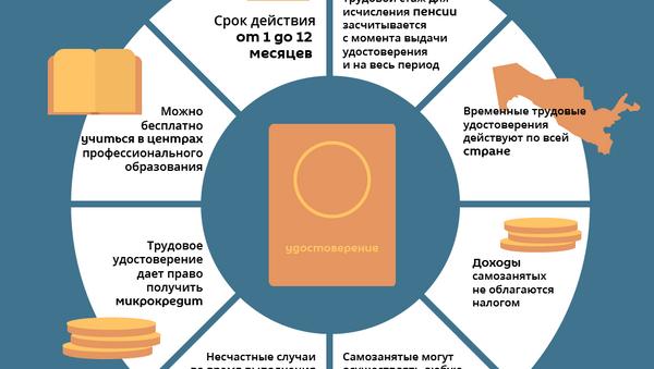 Зачем в Узбекистане получать удостоверение самозанятого - Sputnik Узбекистан