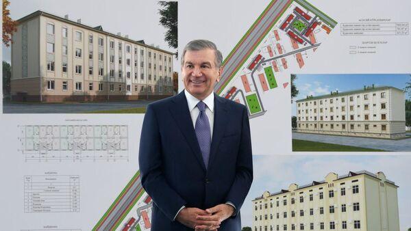 Президент Узбекистана Шавкат Мирзиёев в Хавасте - Sputnik Узбекистан