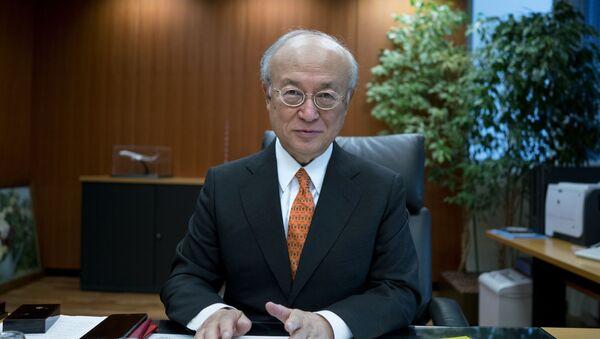 Гендиректор МАГАТЭ Юкия Амано - Sputnik Узбекистан