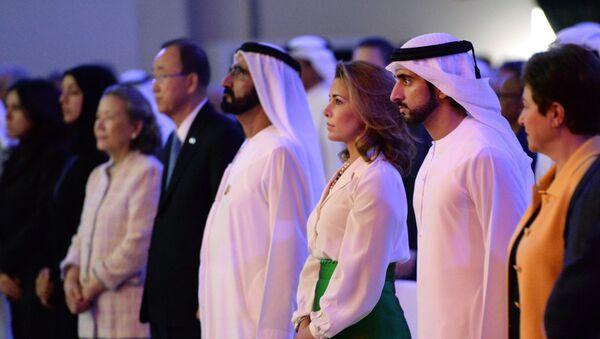 Printsessa Xayya bint al-Xuseyn i premyer-ministr OAE, pravitel Dubaya sheyx Moxammed ben Rashid Al Maktum - Sputnik Oʻzbekiston