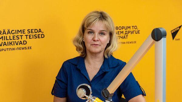 Эстонский педагог Оксана Йыэ - Sputnik Узбекистан