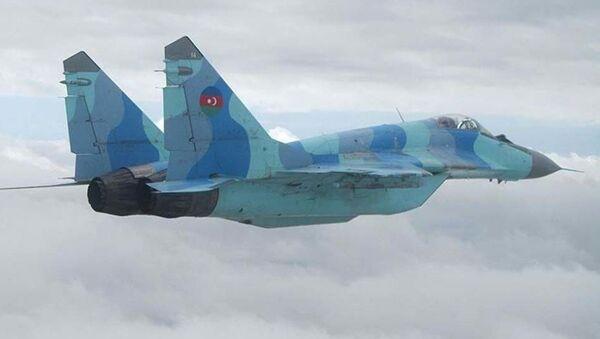 МиГ-29 азербайджанских ВС - Sputnik Ўзбекистон