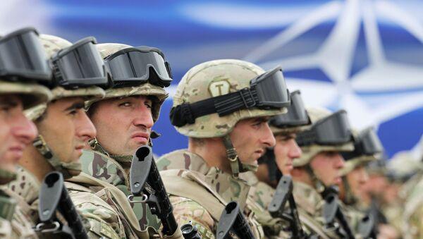 Открытие совместного учебно-тренировочного центра НАТО - Sputnik Узбекистан
