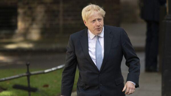 Премьер-министр Великобритании Борис Джонсон - Sputnik Узбекистан