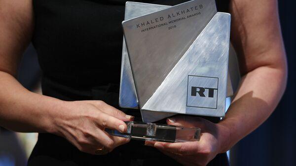Вручение Международной премии в память о журналисте Халеде аль-Хатыбе - Sputnik Узбекистан