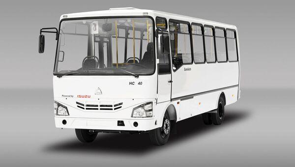 Автобус SAZ HC 40 - Sputnik Ўзбекистон