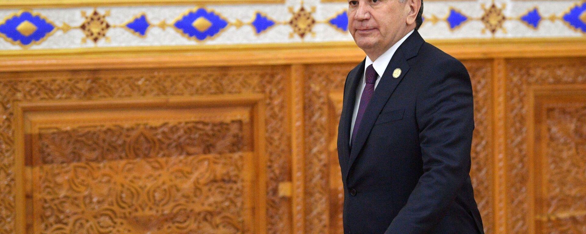 Президент Узбекистана Шавкат Мирзиеев - Sputnik Ўзбекистон, 1920, 23.08.2019