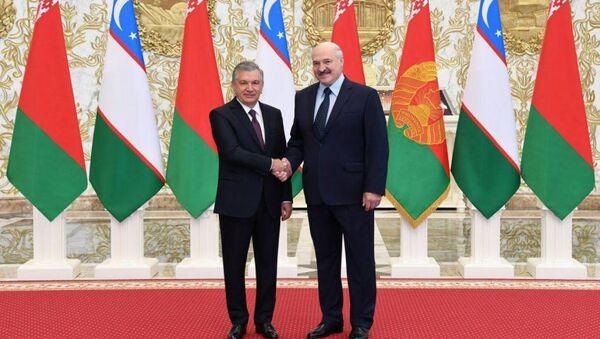 Визит президента Узбекистана Шавката Мирзиёева в республику Беларусь - Sputnik Ўзбекистон