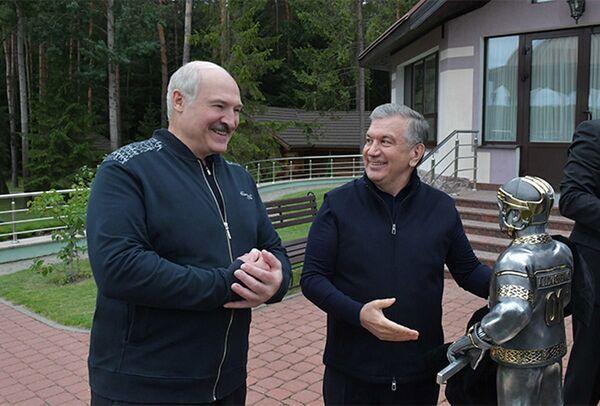 Неформальная встреча с Президентом Узбекистана Шавкатом Мирзиёевым - Sputnik Узбекистан