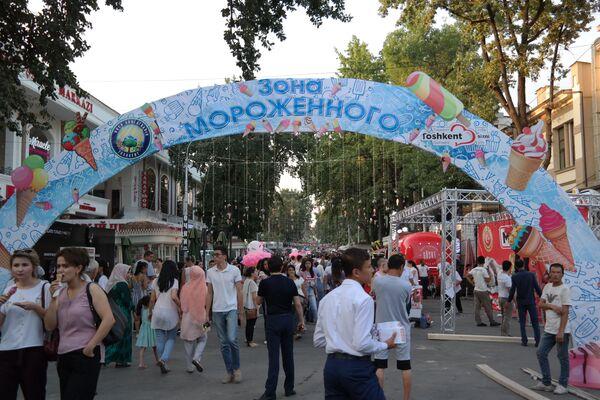 В Ташкенте проходит фестиваль мороженого - Sputnik Узбекистан