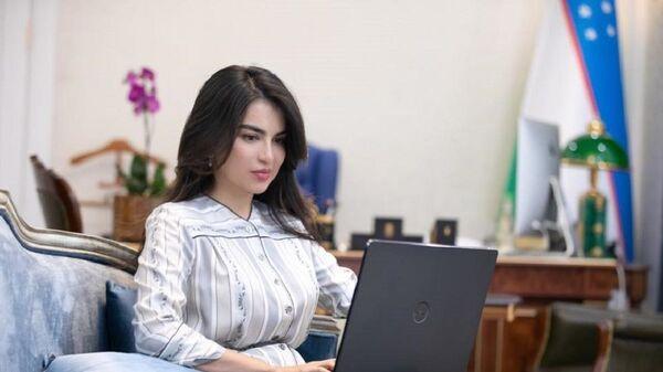 Саида Мирзиёева рассказала о поддержке блогеров и журналистов Узбекистана - Sputnik Узбекистан