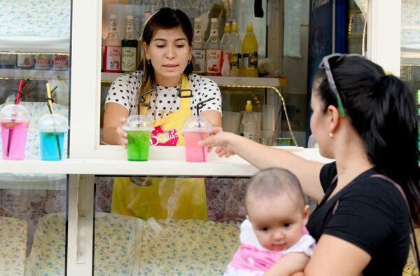 Фестиваль мороженого в Ташкенте - Sputnik Узбекистан