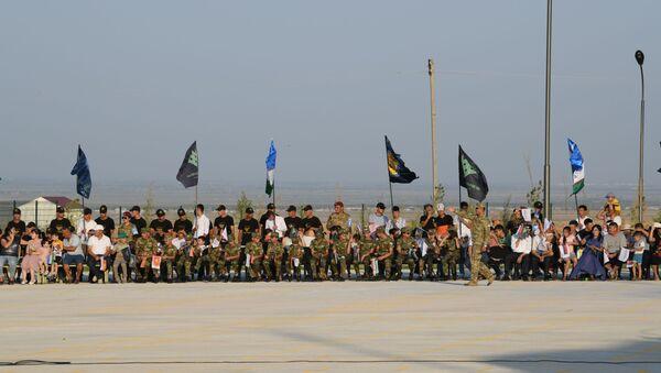 Торжественное открытие конкурса Военно-медицинская эстафета на полигоне Фориш - Sputnik Узбекистан