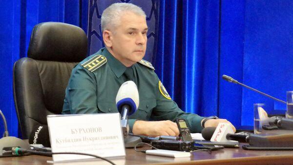 Представитель МВД Узбекистана Бахромбек Адылов   - Sputnik Узбекистан