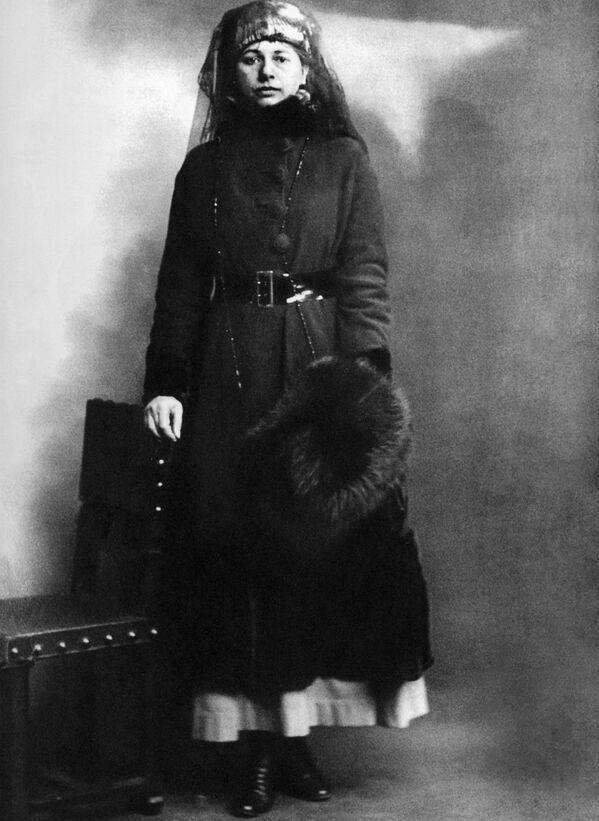 Мата Хари в день своего ареста 13 февраля 1917 года - Sputnik Узбекистан