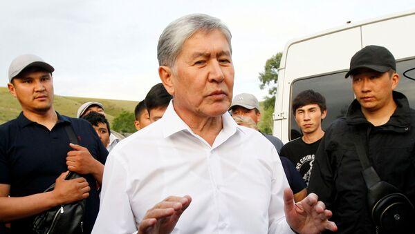 Не дали взять живым или мертвым: Атамбаев сделал заявление - Sputnik Узбекистан