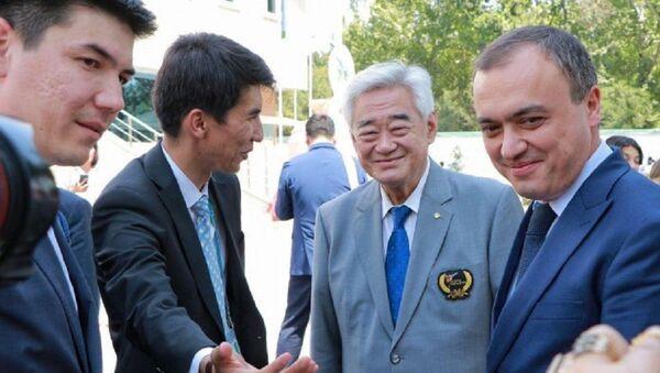 Глава Всемирной федерации таэквондо Чунг Ван Чой - Sputnik Узбекистан