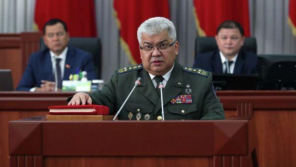 Председатель ГКНБ Кыргызстана Орозбек Опумбаев - Sputnik Узбекистан