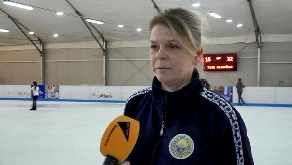 Мастер спорта по фигурному катанию, тренер Елена Склярова - Sputnik Узбекистан
