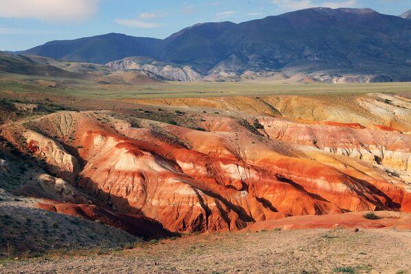 Долина Кызыл-Чин в Чуйской степи Республики Алтай - Sputnik Узбекистан