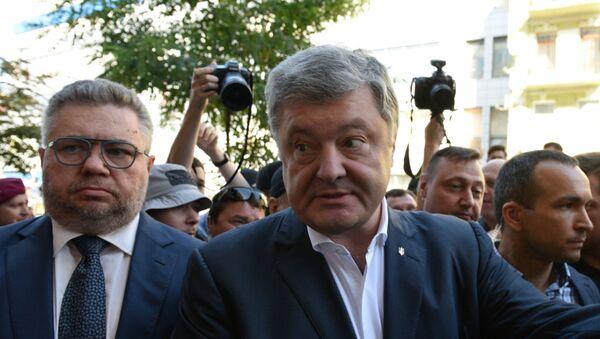 Бывший президент Украины Петр Порошенко вызван на допрос в ГБР - Sputnik Ўзбекистон