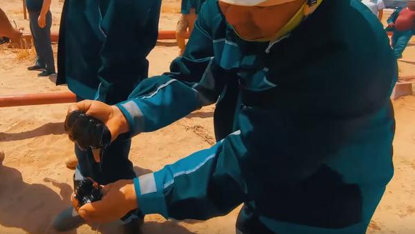 В Узбекистане открыли новое месторождение газа и нефти - видео - Sputnik Узбекистан