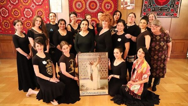 В США проходят мастер-классы танцевального искусства Узбекистана - Sputnik Узбекистан