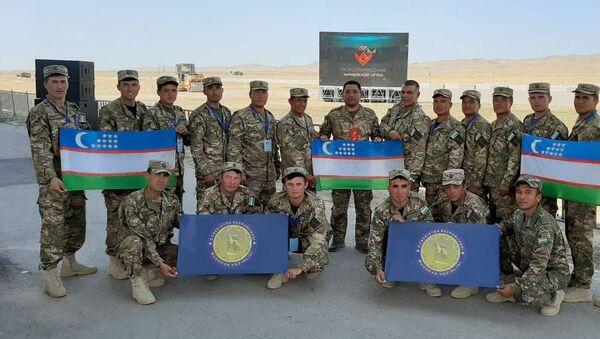 Минометчики Узбекистана завершили конкурс с бронзовой наградой - Sputnik Узбекистан