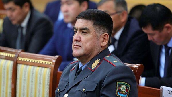 Заместитель министра внутренних дел Курсан Асанов. Архивное фото - Sputnik Узбекистан