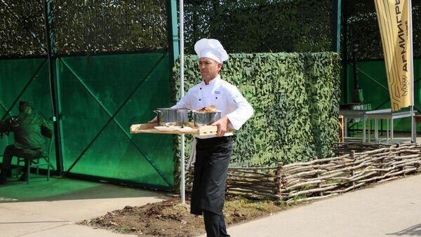 Военный повар из Узбекистана - Sputnik Узбекистан