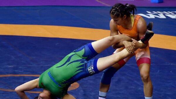 Узбекская спортсменка может стать бронзовым призером чемпионата мира - Sputnik Узбекистан