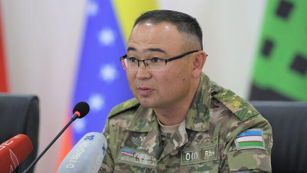 Замминистра обороны Узбекистана генерал-майор Азизбек Икрамов - Sputnik Ўзбекистон