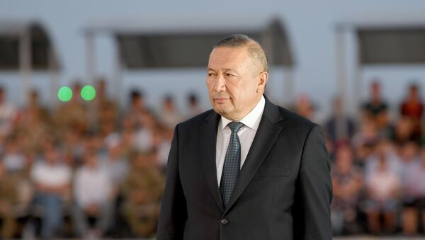 Хоким Джизакской области Эргаш Салиев на закрытии АрМИ-2019 - Sputnik Узбекистан