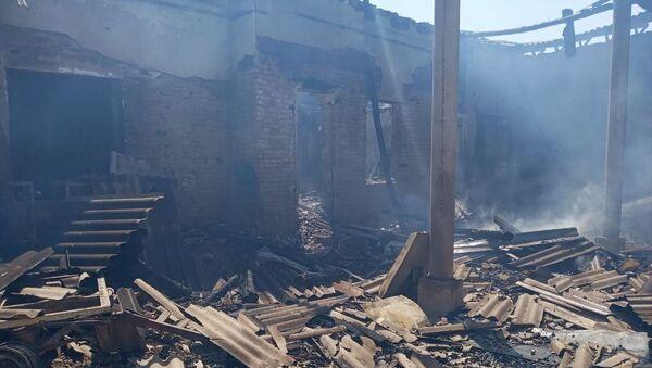 В Маргилане произошел пожар со смертельным исходом - Sputnik Ўзбекистон