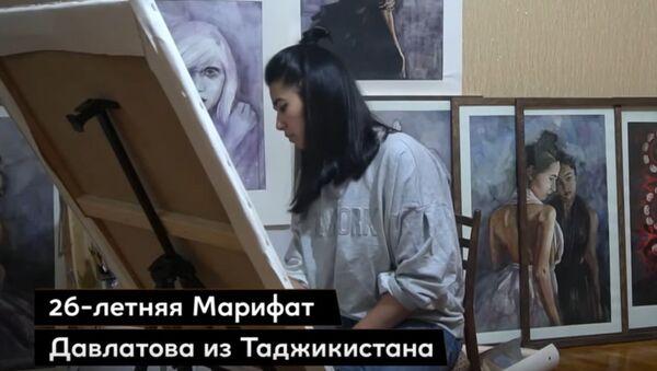 Обнаженная душа женщины: картины Марифат Давлатовой - Sputnik Ўзбекистон