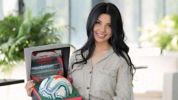 Шахзода стала послом испанской футбольной лиги в Центральной Азии - Sputnik Узбекистан