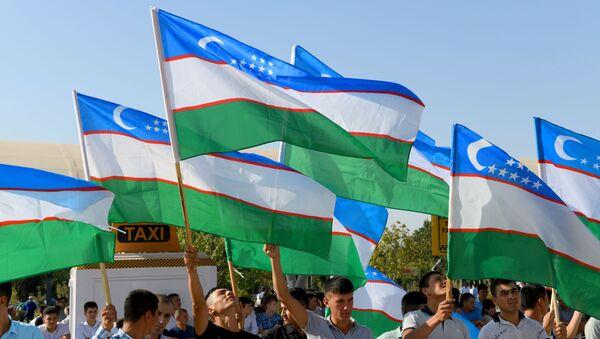 Торжественная встреча победителей и призеров АрМИ в Ташкенте - Sputnik Узбекистан