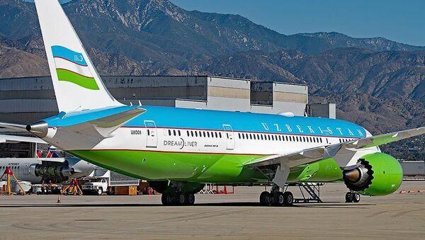 В Сети появилось фото нового самолета Шавката Мирзиёева - Sputnik Ўзбекистон