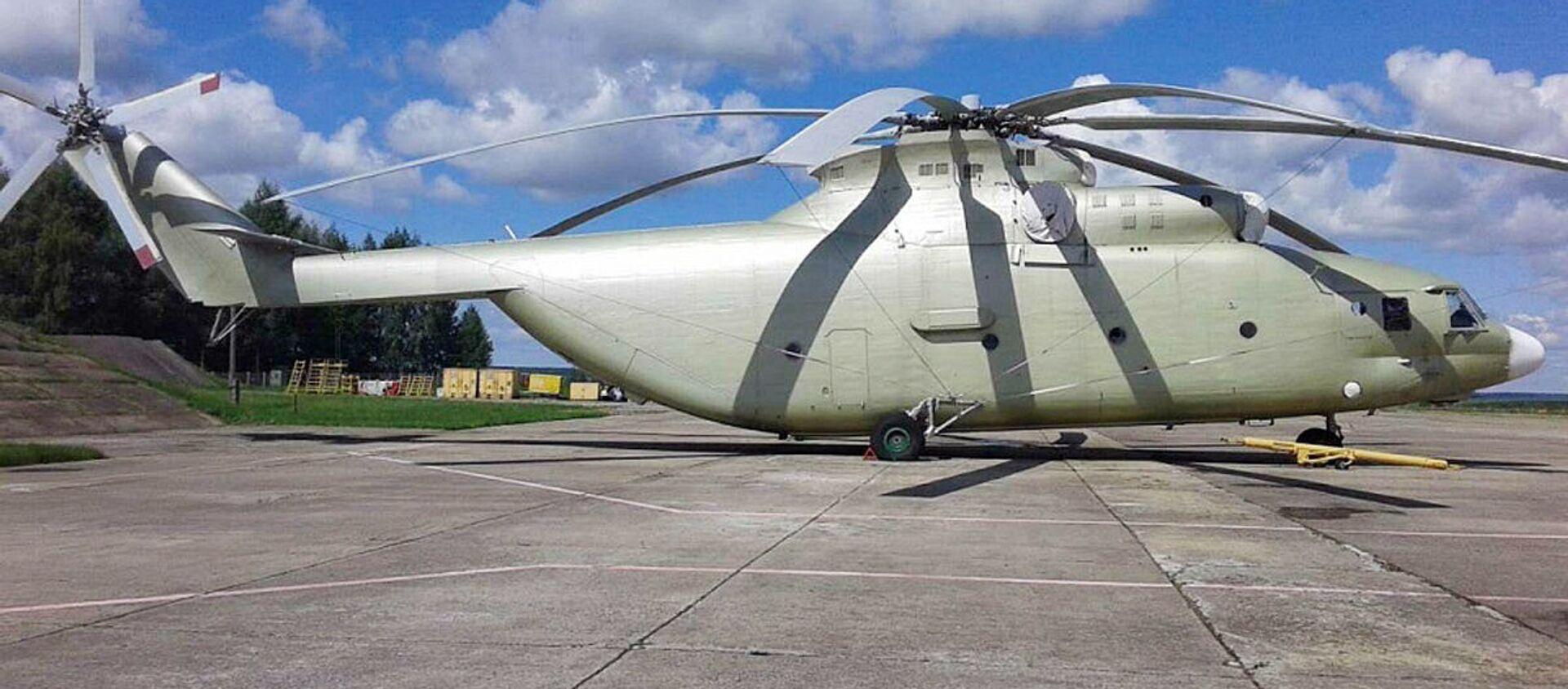 Vertolet Mi-26 - Sputnik Oʻzbekiston, 1920, 09.12.2020