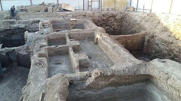 В Бухаре обнаружили развалины средневековой бани - Sputnik Узбекистан