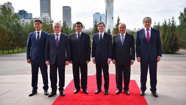 Министр иностранных дел РТ Сироджиддин Мухриддин принял участие в работе Встречи высокого уровня С5+1 в городе Нур-Султан Республики Казахстан - Sputnik Узбекистан