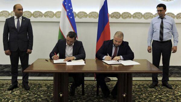 Delegatsiya iz Tashkenta zaklyuchila dogovorov v Moskve na 29,8 mln dollarov SSHA - Sputnik Oʻzbekiston
