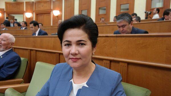 Predsedatel komiteta jenщin Samarkandskoy oblasti Gavxar Alimova. - Sputnik Oʻzbekiston