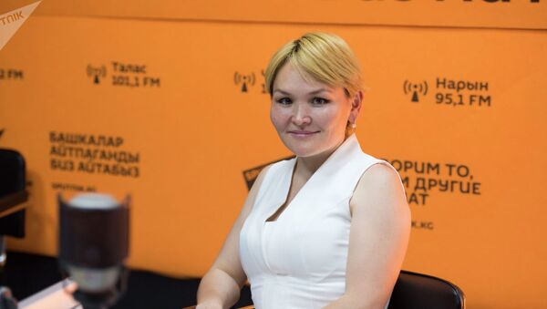 Айнура Сарыбаева - Sputnik Узбекистан