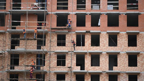 Строительство жилых домов - Sputnik Узбекистан