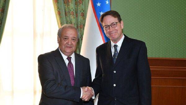 Новый посол Англии встретился с главой МИД - Sputnik Узбекистан