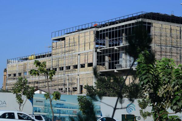 Строительство торгово-развлекательного центра Rivera   - Sputnik Узбекистан