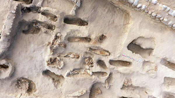 Археологи обнаружили в Перу останки 227 детей - Sputnik Ўзбекистон