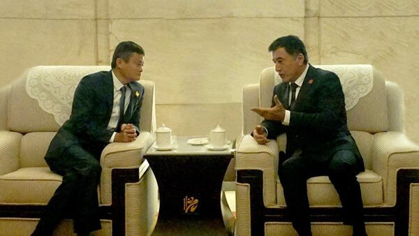 Владимир Норов встретился с Джеком Ма - Sputnik Узбекистан