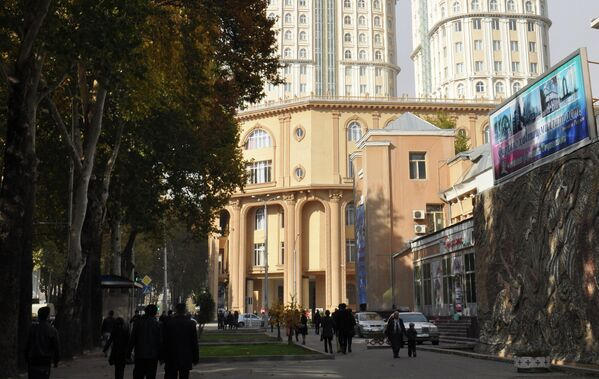 Бизнес-центр Душанбе-Плаза. Архивное фото - Sputnik Узбекистан